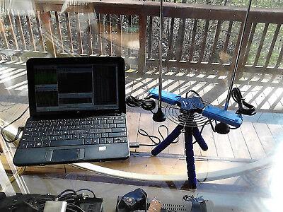 """2x RTL2832U+R820T2 DRONE TRIPOD RIG /""""DARK KNIGHT/"""" DUAL SDR RADIO"""