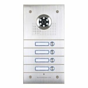 ESP-EVVX4F-Enterview-VX-4-Button-Video-Door-Station-Intercom-Camera-Security-New