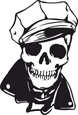Skull Sticker for Motorcycle Gas Tank car bumper Skateboard Helmet Laptop pc #06