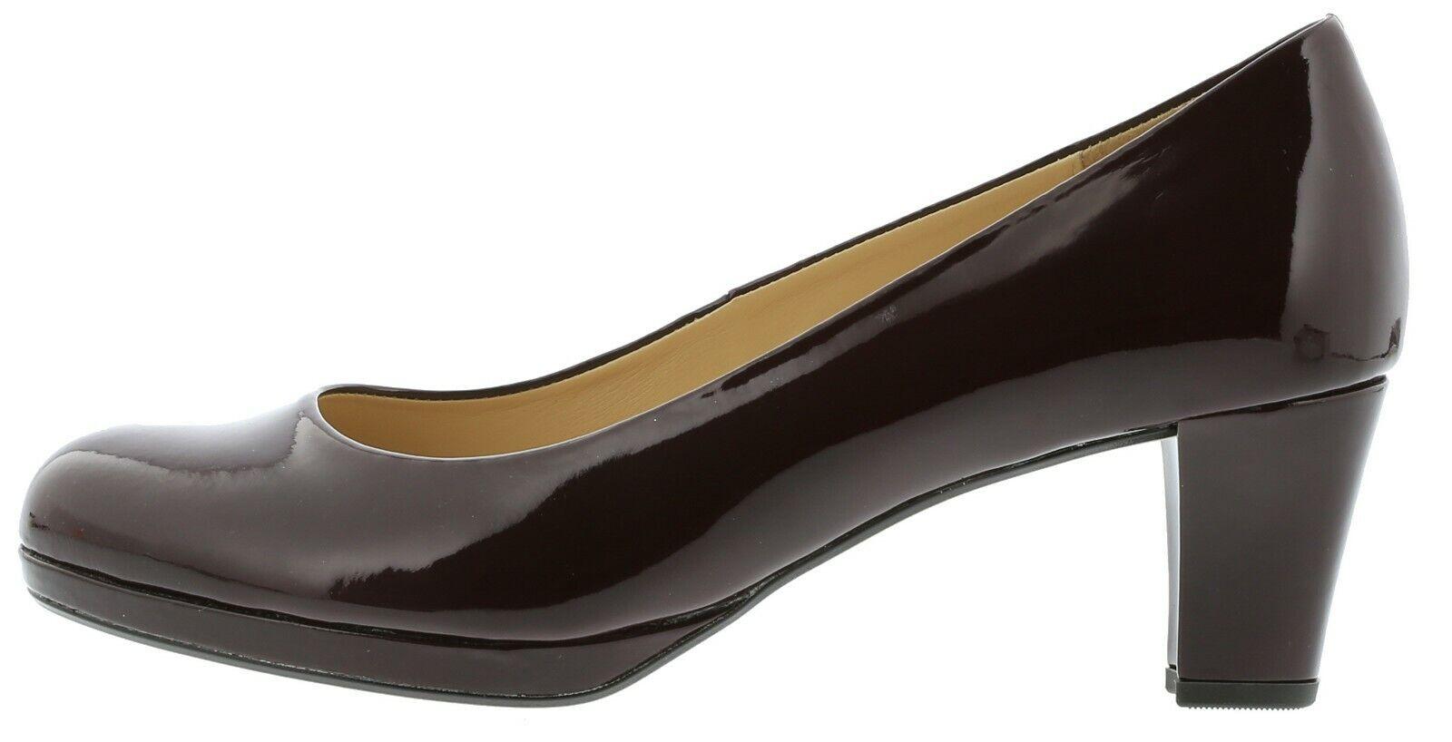 Femmes formelle à talon escarpins GABOR Figaro Merlot Taille UK 4, 4.5, 5.5, 6.5, 7