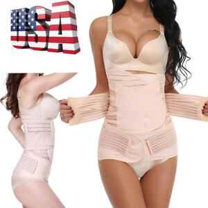 248a41cb411bb Image is loading Postpartum-Corset-Recovery-Tummy-Belly-Waist-Support-Belt-