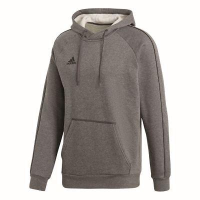 2019 Moda Calcio Adidas Core 18 Hoodie Con Cappuccio Pullover Bambini Grigio Scuro-r Kinder Dunkelgrau It-it I Clienti Prima Di Tutto