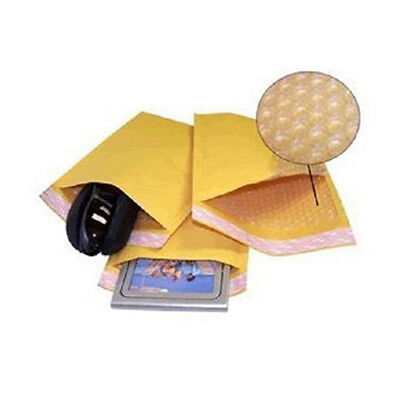 """250 #0 6x10 """" Valuemailers Brand """" Kraft Bubble Mailers Padded Envelopes Bags"""