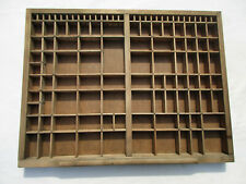Rare Collectible Kelsey Excelsior Type Case Used Lot Of Letterpress Monotype
