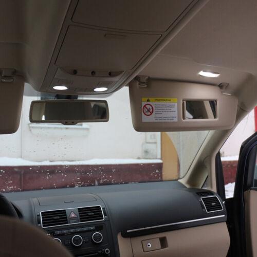 VW Touran LED Interior Kit Full Premium 13 SMD Bulbs White Canbus 1Т1 1Т2