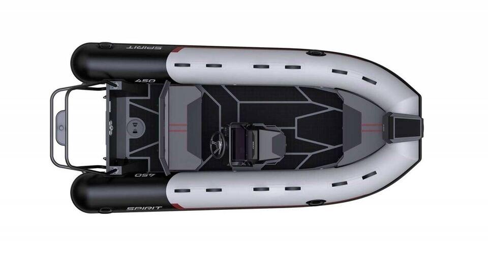 Gummibåd, Aqua Spirit 450CAC - 70 HK..., årg. 2021