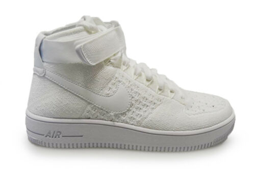Triple Flyknit 817420 Nike Mid 1 Baskets Force 102 Hommes Air Ultra White RqazZwF