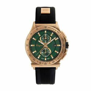 Ferragamo-FFJ010017-Men-039-s-1898-Green-Quartz-Watch