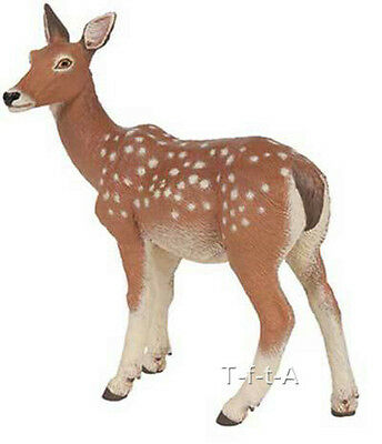 FREE SHIPPING | Papo 53014 Doe Deer Model Wild Animal Figurine- New in Package