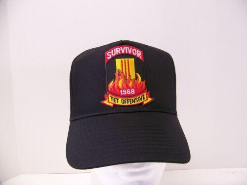 #1098L Survivor Tet Offensive Ballcap Cap Hat