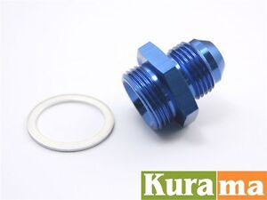 Autobahn88 M22 P1.5 Push on Hose AN-10 AN10 Oil Cooler Alloy Fittings adaptor