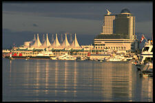 531017 Canada Place And Pan Pacific Vancouver A4 Photo Print