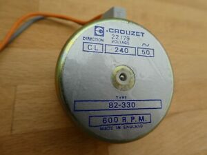 Michell-Transcriptor-Turntable-Crouzet-240V-Synchronous-Motor-New-Old-Stock
