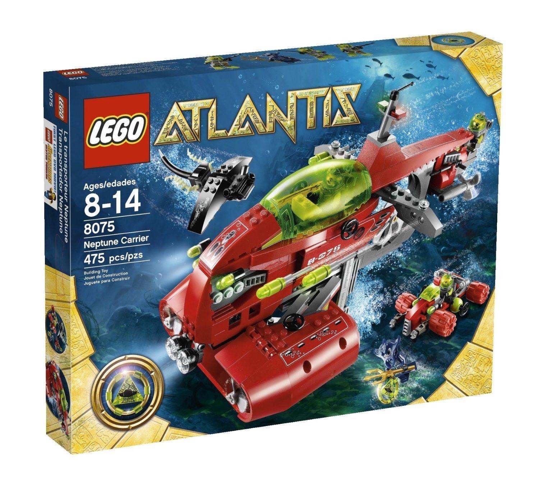 nuovo sealed  LEGO 8075 Atlantis Neptune autorier  575 pieces  risposta prima volta