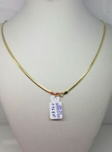 Gold-Authentic-18k-saudi-gold-necklace-18-inches-chain