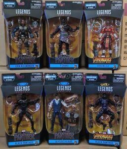 Marvel-Legends-Black-Panther-Wave-2-Set-of-6-Figures-M-039-Baku-BAF-In-Stock-New