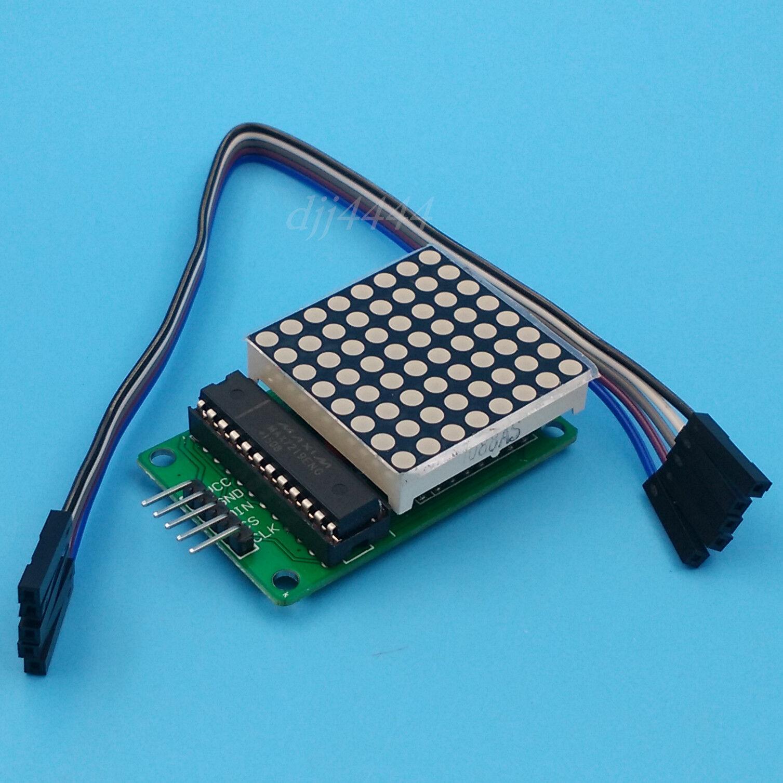 8x64 MAX7219 LED Matrix wrong orientation