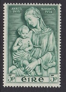 IRELAND-Scott-152-5p-MNH-1954-Marian-Year