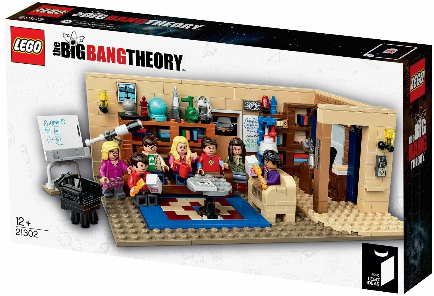 LEGO Ideas 21302 The Big Bang Theory BRAND NEW in Box BNISB