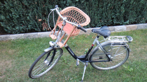 Child Bike Seat Bicycle Seat Front GDR grazing Handlebar Wicker Bike Basket New