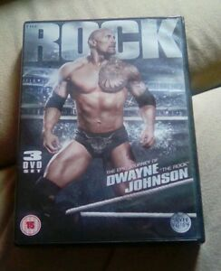 WWE  The Rock  The Epic Journey Of Dwayne Johnson DVD - Stockport, United Kingdom - WWE  The Rock  The Epic Journey Of Dwayne Johnson DVD - Stockport, United Kingdom