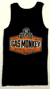 Gas Monkey Garage Tank Top Womens L Mens S Bar and Grill