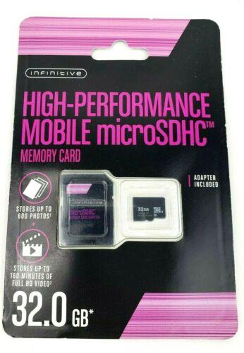 Infinitivo MicroSDHC de alto rendimiento 32GB Micro SD Card