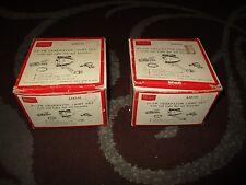 Vintage Sears Bike Generator Light Set Kit Headlight Tail Light 12v 6w Lot of 2