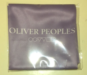 """OLIVER PEOPLES Bergdorf Goodman Cleaning Cloth Glasses Phones Lens Soft 12/""""x12/"""""""