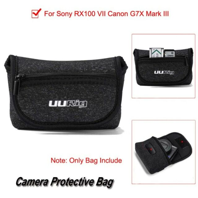 1 * Camera Protective Carrying Case Suit for Canon G7X Mark III Sony RX100 VII