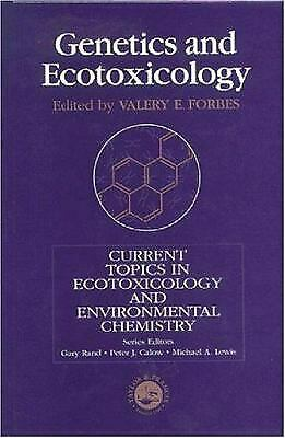Genetics and Ecotoxicology Hardcover Forbes Forbes