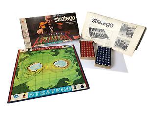 Vintage Stratego Strategy Board Game Milton Bradley 1975 Complete
