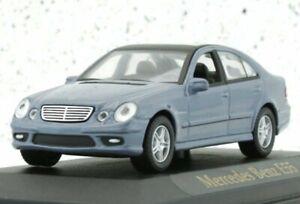 MB Mercedes Benz E 55 - bluemetallic - YATMING 1:43