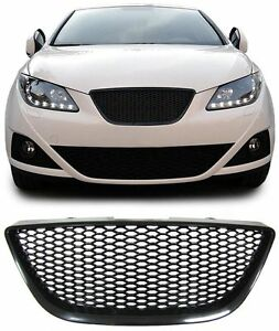 calandre grille nid abeille noire seat ibiza 6j 1 4 1 9 tdi 16v stylance sport ebay. Black Bedroom Furniture Sets. Home Design Ideas
