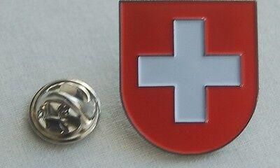 Schweiz Switzerland Wappen Pin Anstecker Badge Button TOP