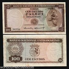 P26 Aleixo with faint stains Portugal Timor 20 escudos 1967 Regulo D UNC
