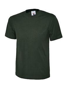 Uneek-UC302-Premium-Quality-Work-Wear-T-Shirt-100-Cotton-200gsm-Tee-Shirt