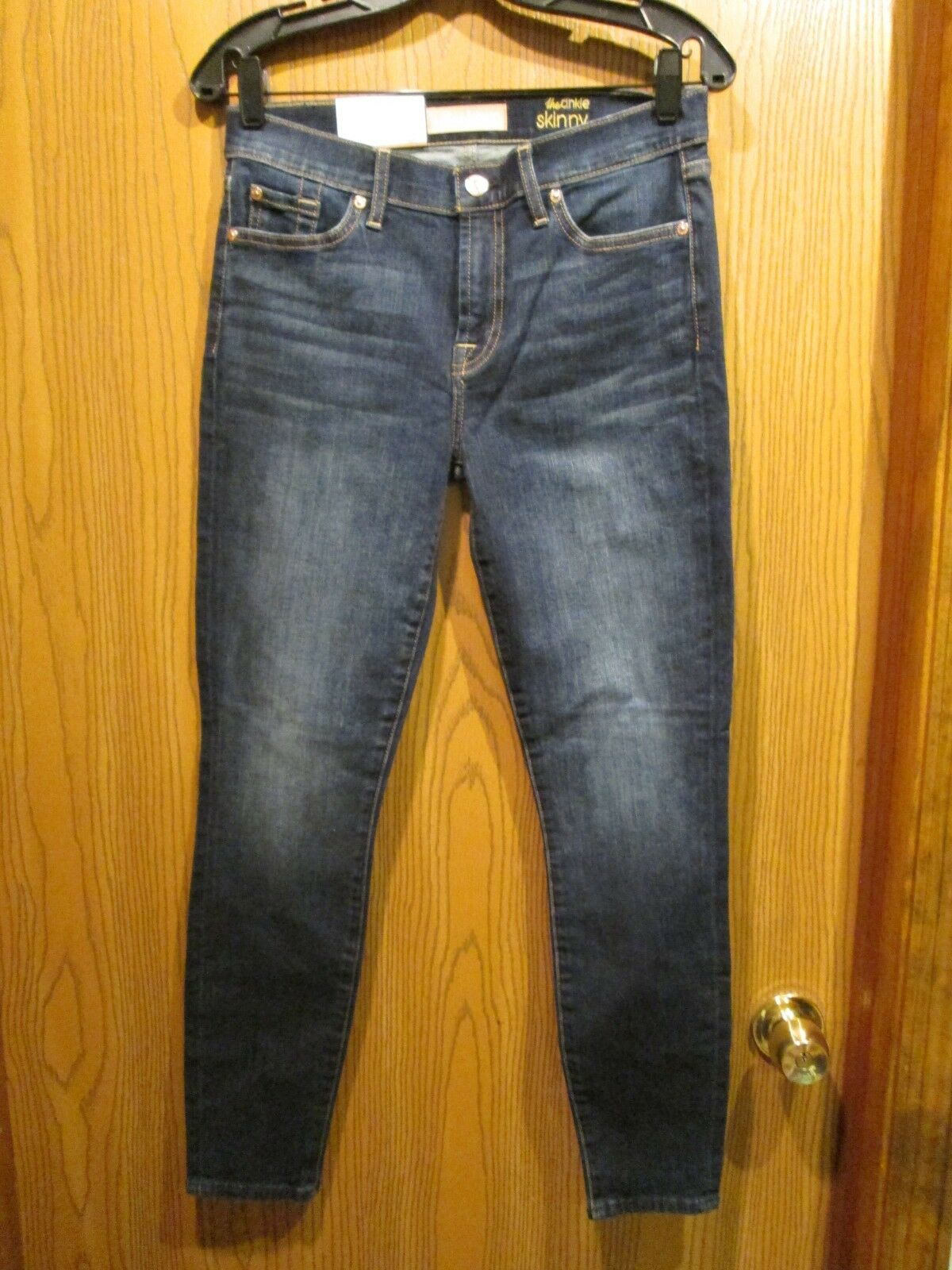 7 for all mankind SKINNY PANTS LEGGING JEANS NEW SZ 28