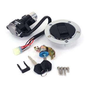 Fuel Gas Cap Ignition Switch Seat Lock For Suzuki Bandit 650 1200 GSX650 GSX1250