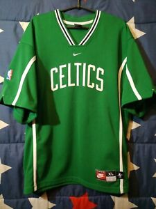 quality design 34378 6c6c1 Details about SIZE XL Boston Celtics USA NBA Training Basketball Shirt  Jersey NIKE