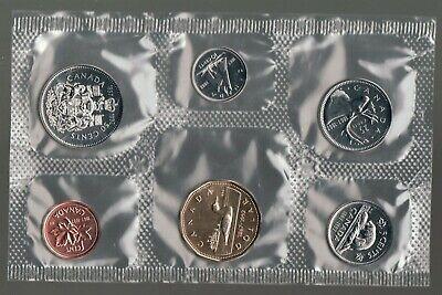 1972 Uncirculated Canada Coin Proof Like Set ~  Superfleas