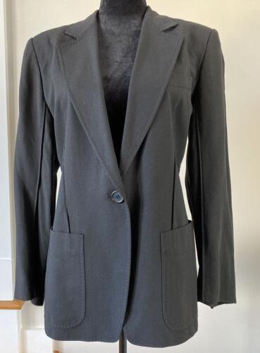 Ann Demeulemeester Women's Black Blazer, Size M