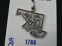 Stunning Sterling Silver Maryland State Pendent/ Charm Make Offer 1959