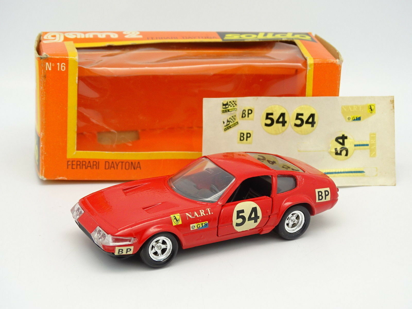 Solido 1 1 1 43 - Ferrari 365 GTB 4 Daytona Le Mans 1974 No.54 591740
