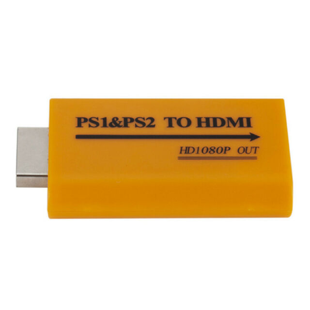 1080P HD PS1/PS2 To HDMI Audio Video Converter Adapter For HDTV ProjeRKCA