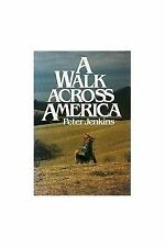 The Walk West by Peter Jenkins and Barbara Jenkins (1981 ... Map Route Of A Walk Across America Peter Jenkins Walked on