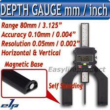 Affichage Numérique Jauge de Profondeur Horizontal Vertical Autoportante 80mm