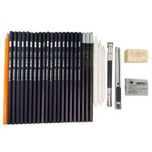 Croquis-Crayon-Stylo-Art-et-design-pour-dessin-croquis-30-Pcs-x-2-set