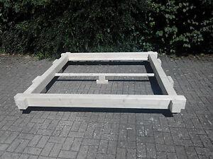 bett balkenbett massivholzbett 200x200 180x200 140x200. Black Bedroom Furniture Sets. Home Design Ideas