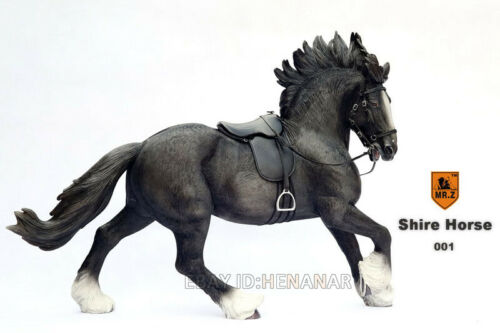 1:6 Scale Mr.Z Animal Toys England Sharma Horse Resin Figure 5 Color Model Gift